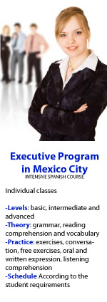 Executive Spanish Program in Mexico city